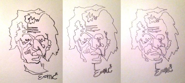 Einstein trio